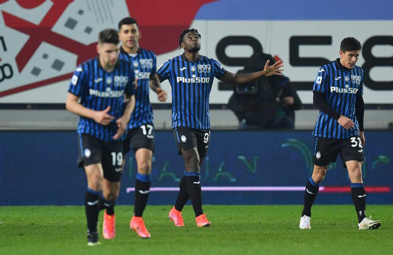 Atalanta-Napoli, Zapata trascina i suoi alla vittoria