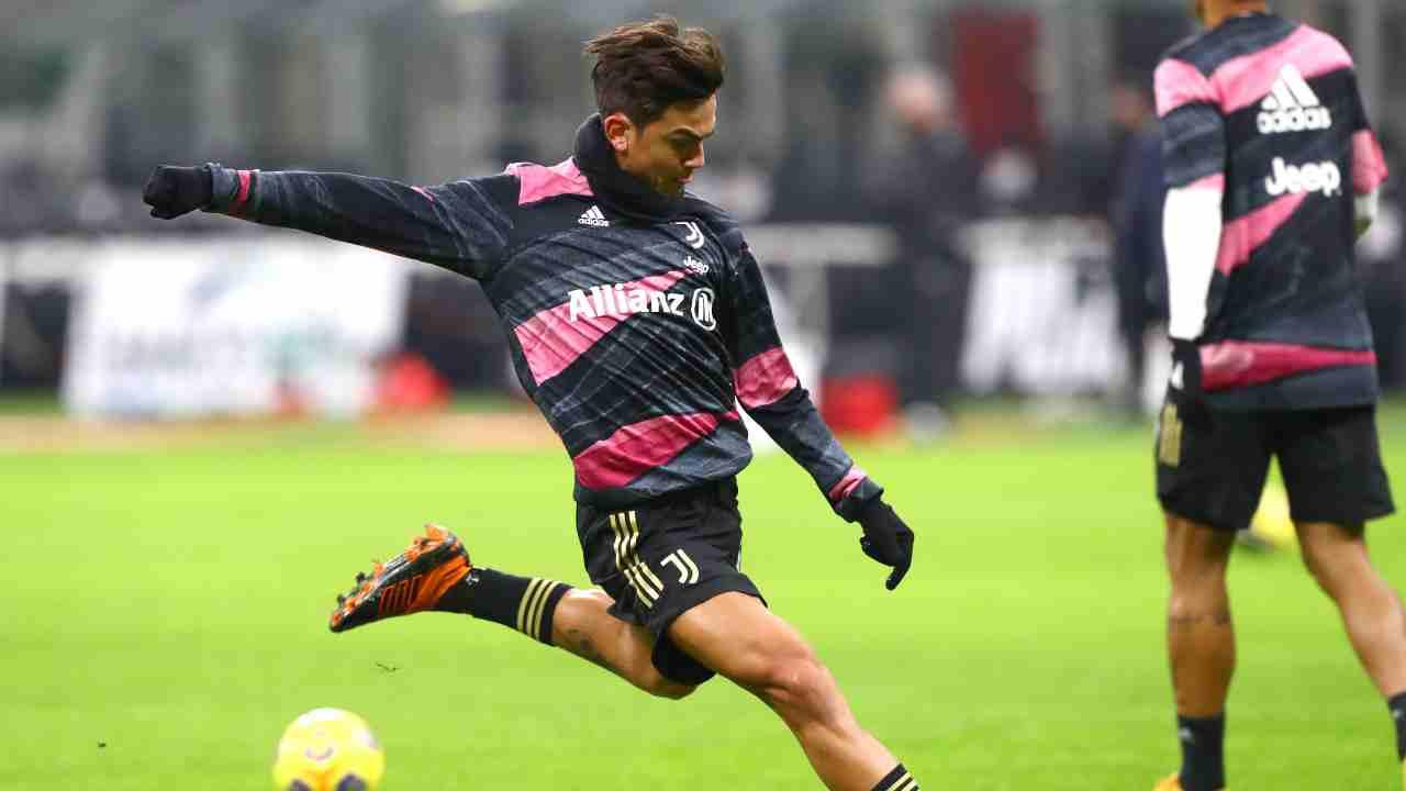 Juventus Ronaldo Dybala Morata Kean Icardi Depay Aguero
