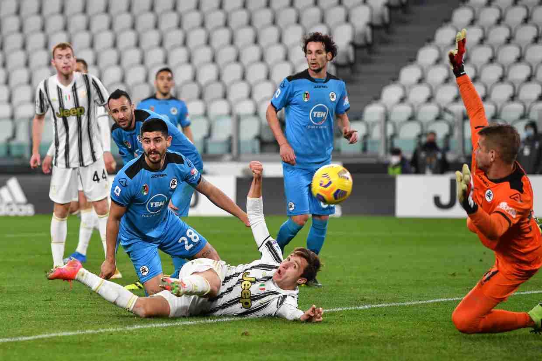 Juventus-Spezia 3-0, Morata e Bernardeschi cambiano il volto alla partita