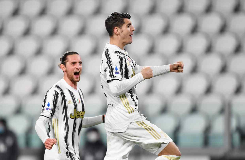 Morata Rabiot Juventus Lazio