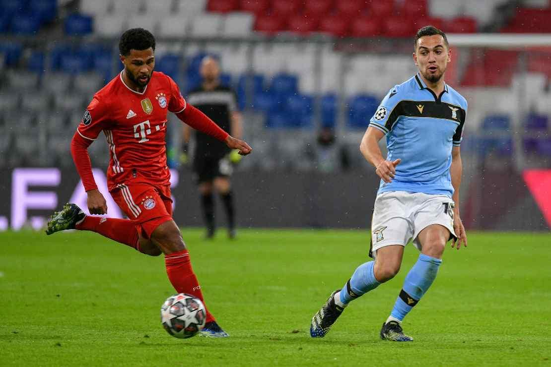 Bayern Monaco Lazio Fares infortunio