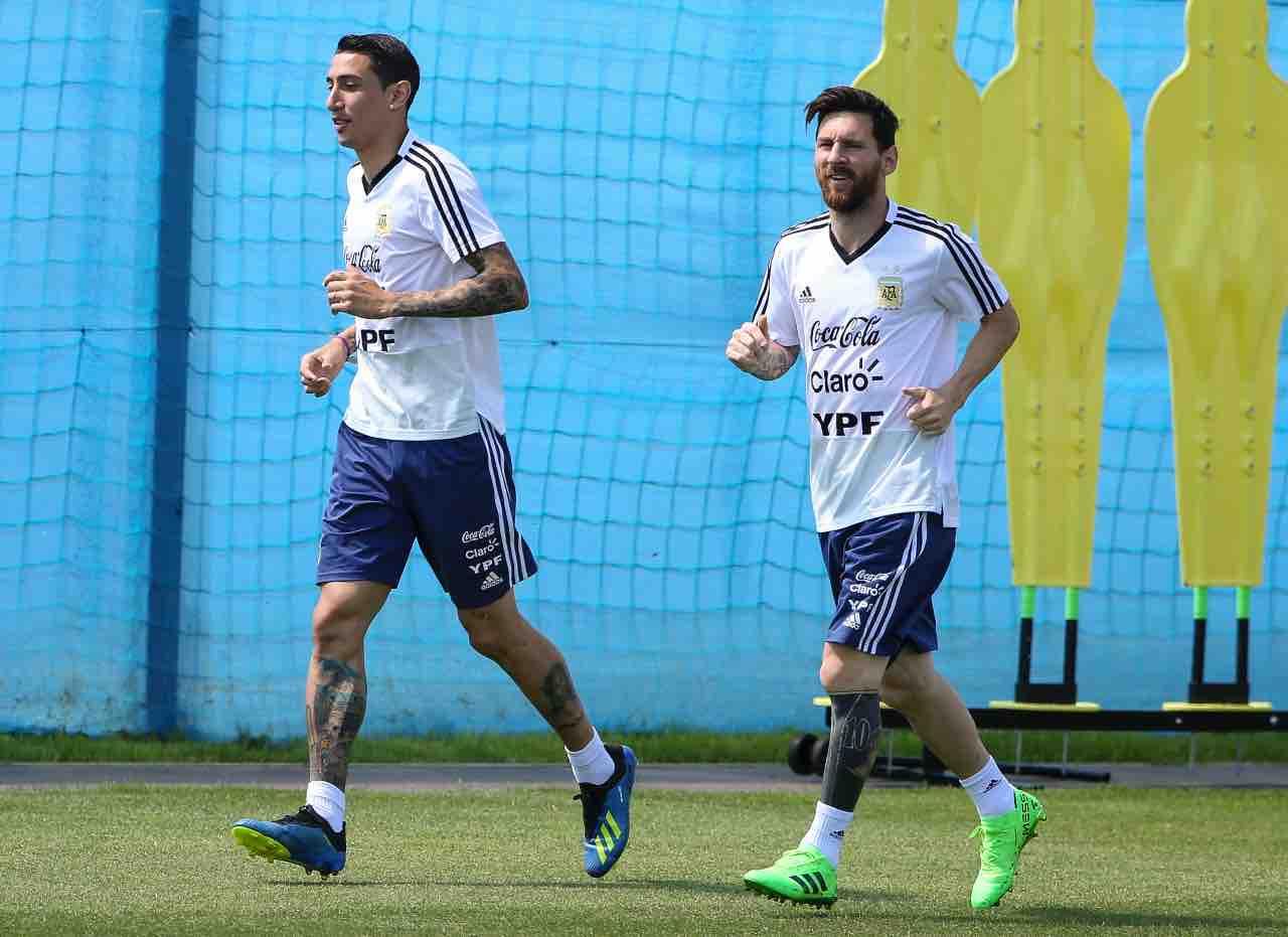 Messi e Di Maria