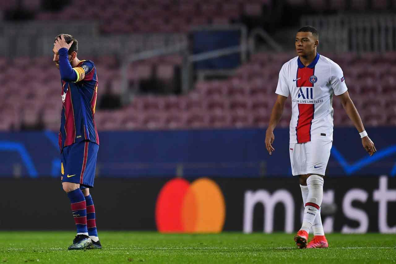Champions League PSG Barcellona Liverpool Lipsia tabellino