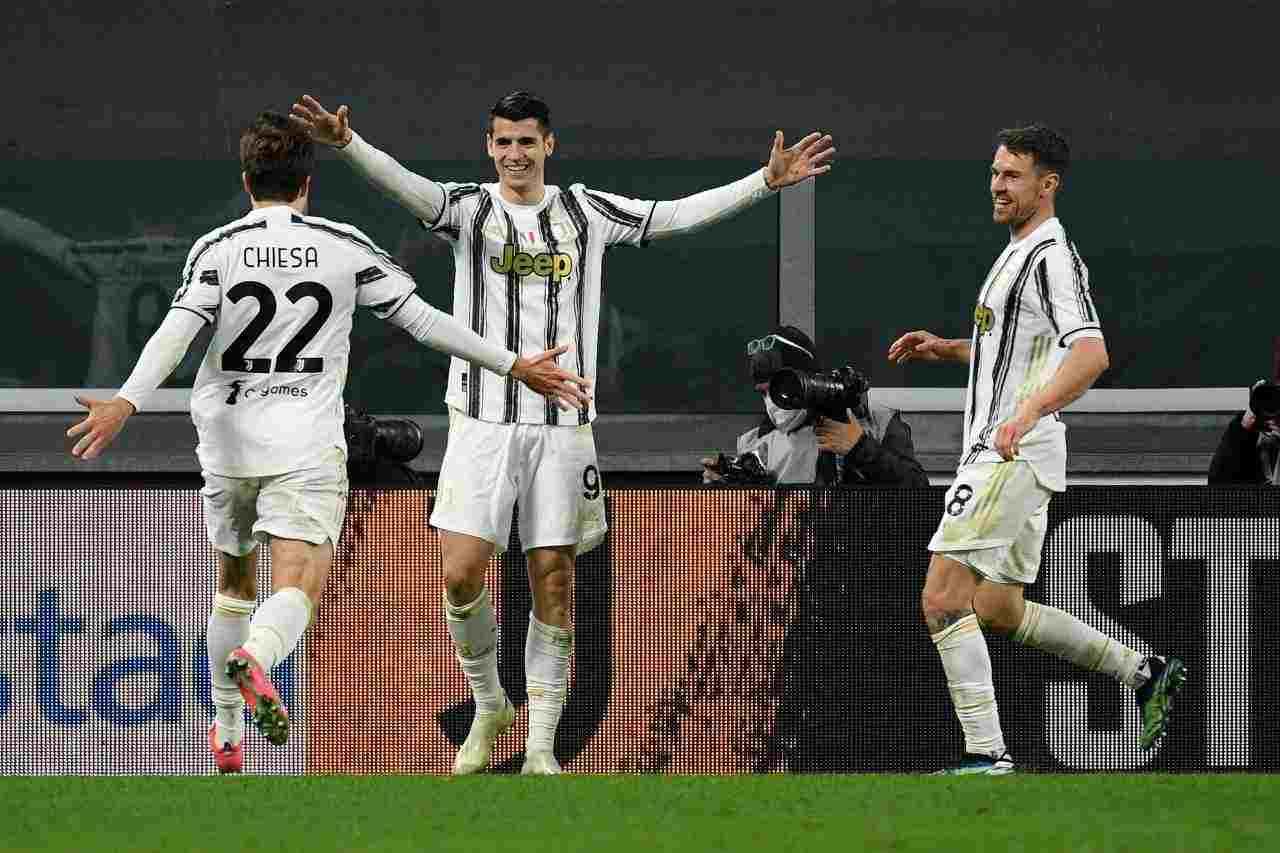 Juventus, Morata devastante | Segna di più senza Ronaldo: i numeri