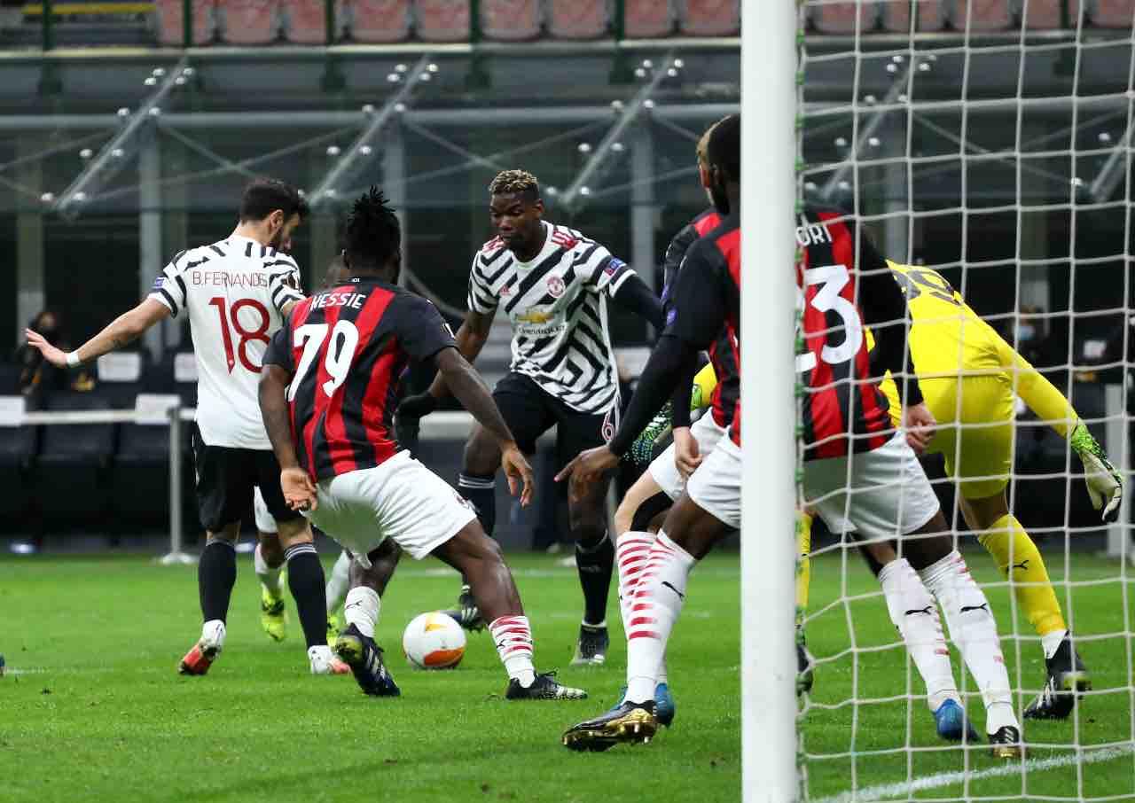 Pogba vs Milan