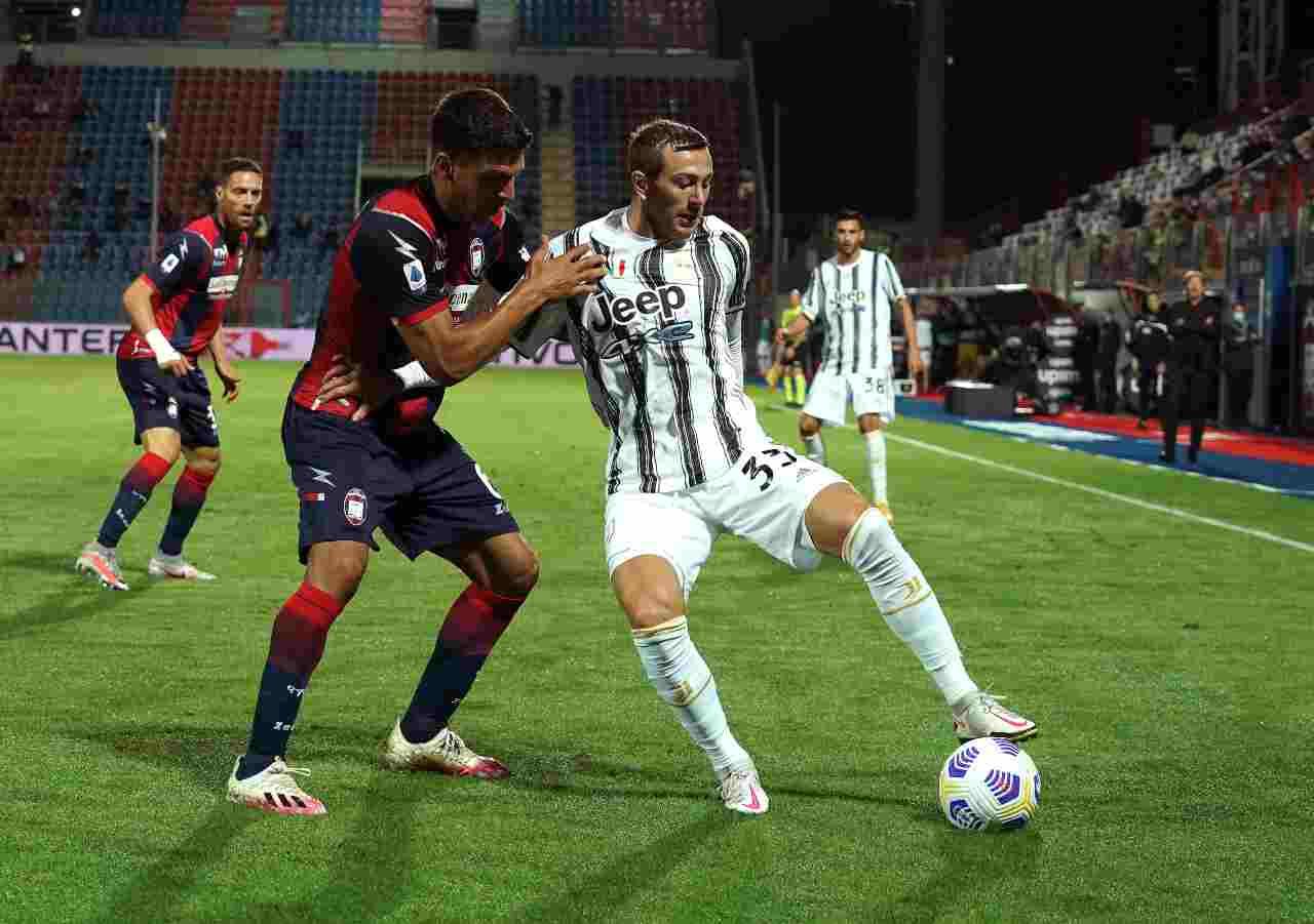 Calciomercato Juventus, Bernardeschi nello scambio con Acuna