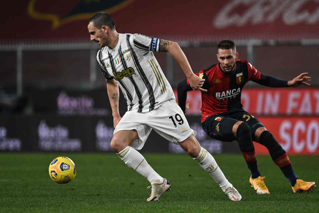 Juventus, UFFICIALE: Bonucci negativo
