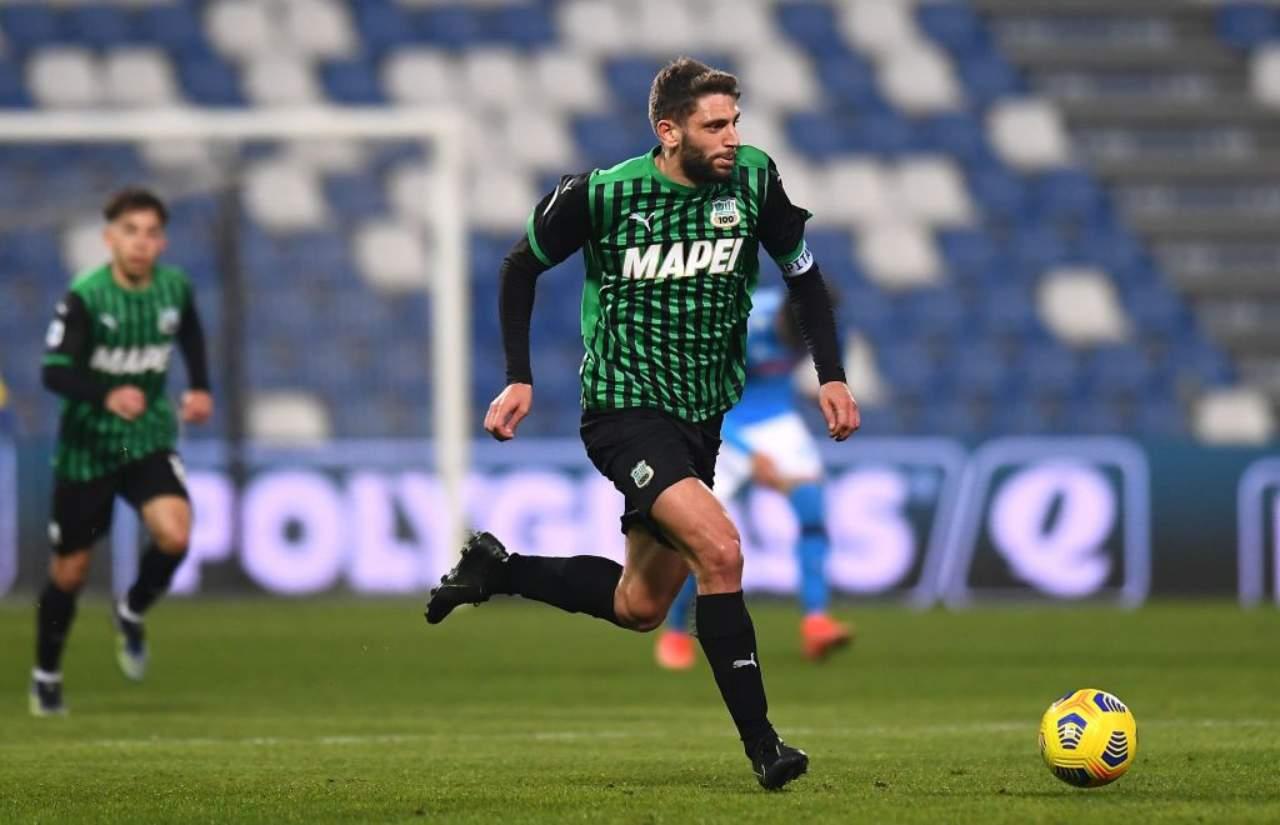Milan Sassuolo, Berardi Krunic