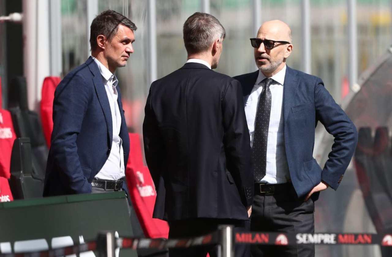 Milan calciomercato Maldini