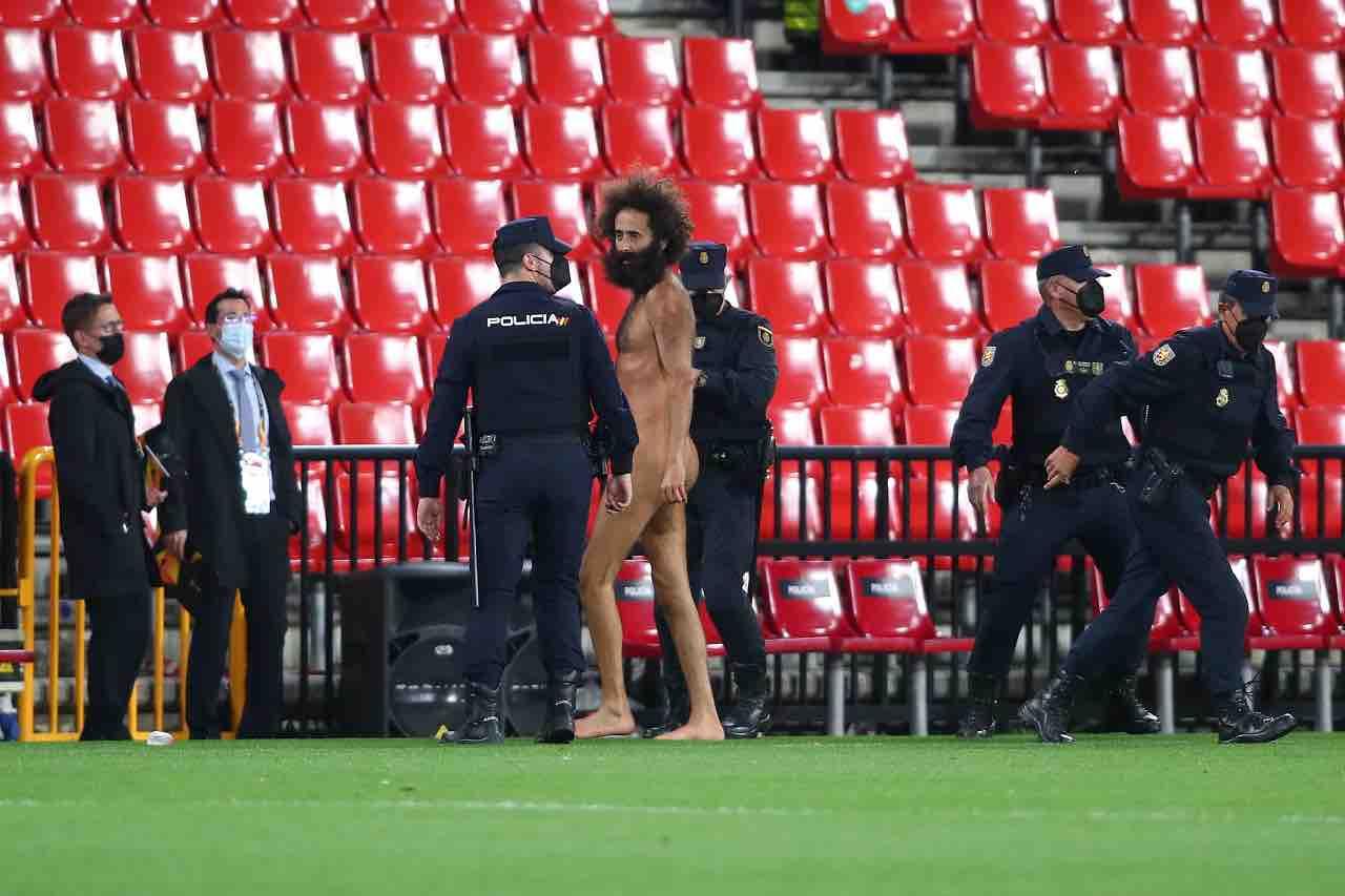 Granada Manchester United uomo nudo
