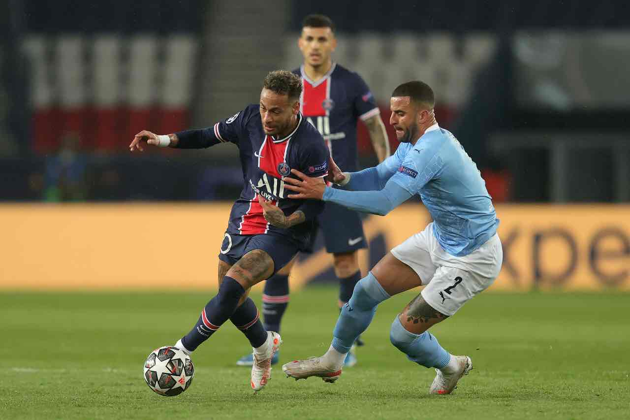 Neymar Psg Man City