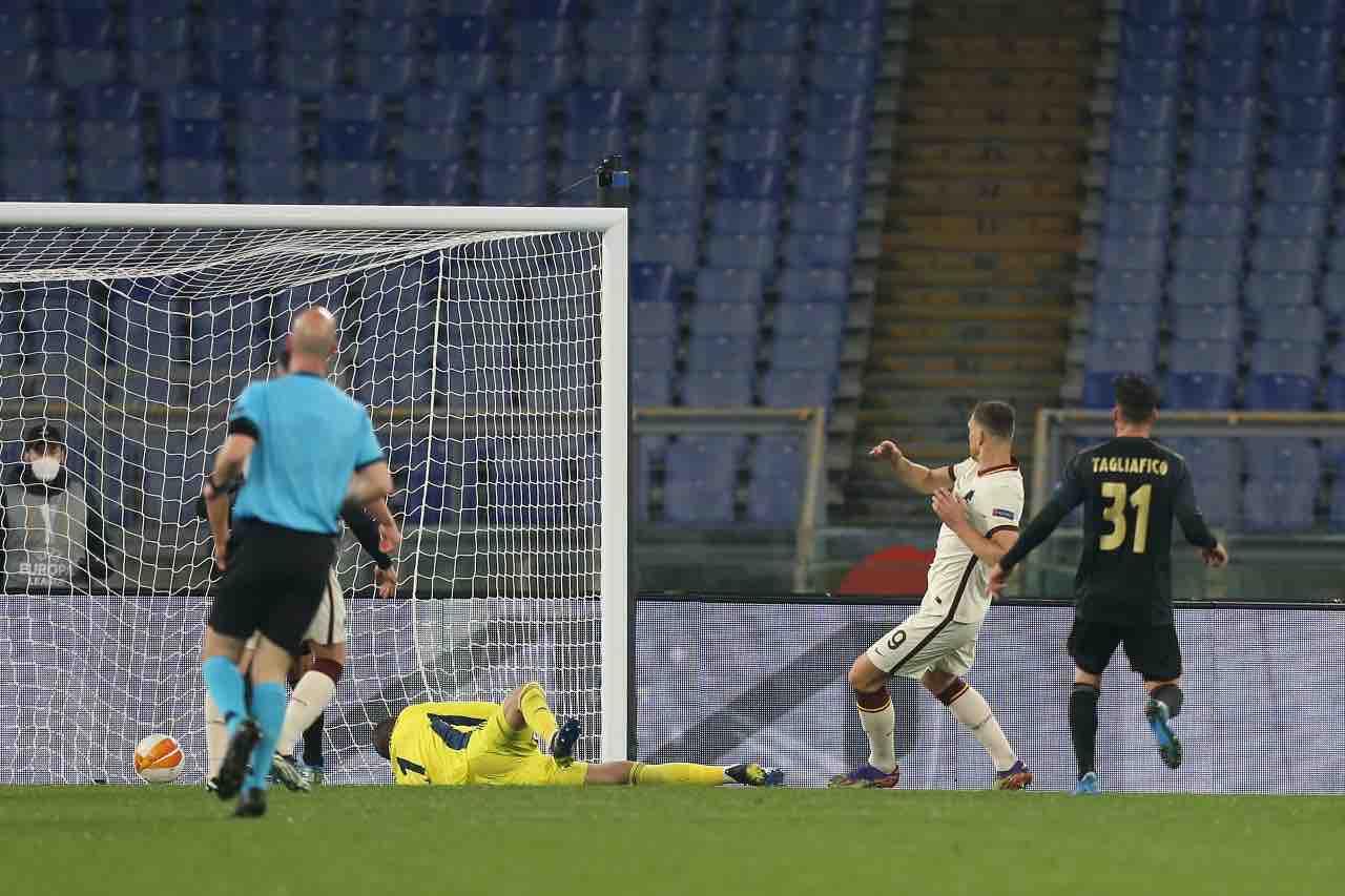 Roma Ajax Dzeko Europa League