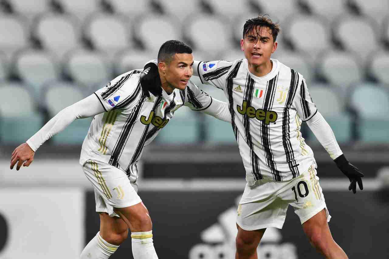 Juventus Dybala Ronaldo calciomercato