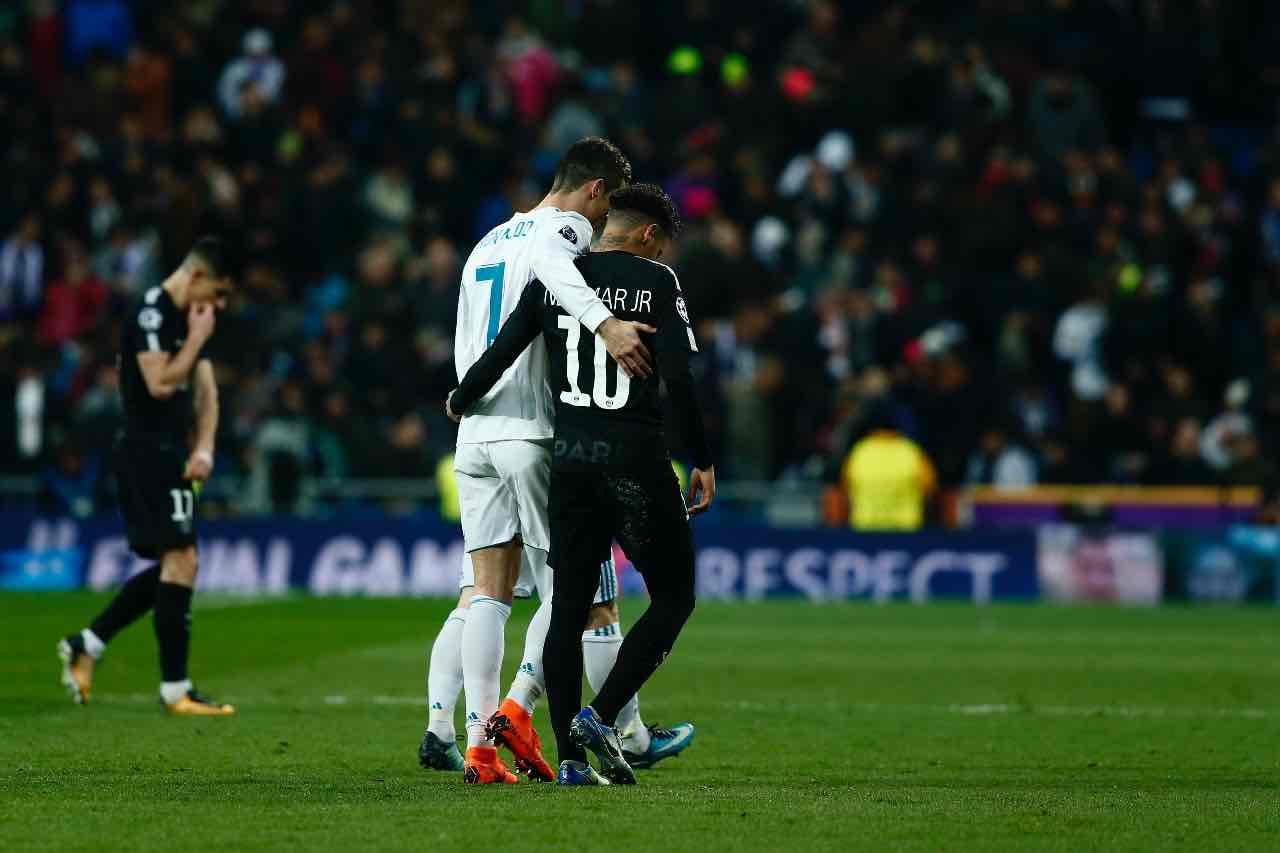 Ronaldo e Neymar calciomercato