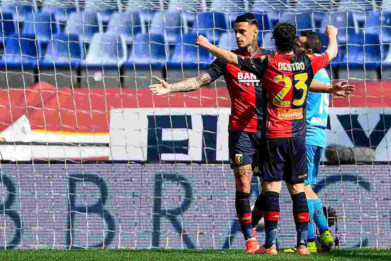 Genoa Spezia serie a tabellino classifica
