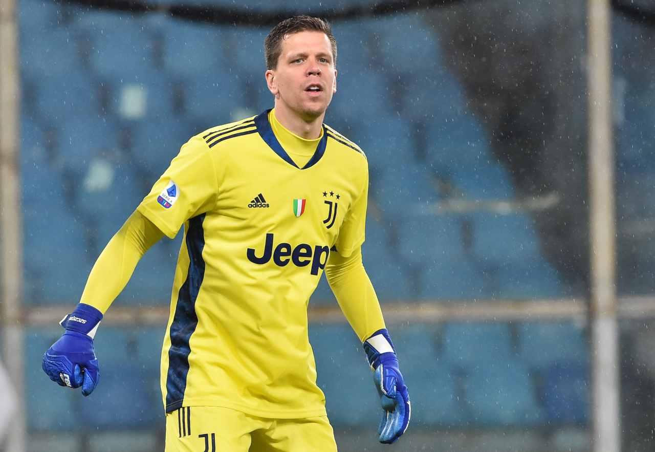 Szczesny Juventus calciomercato
