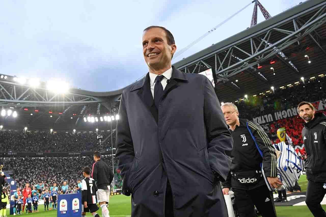 Calciomercato Juventus, sfuma Zidane | Allegri al suo posto