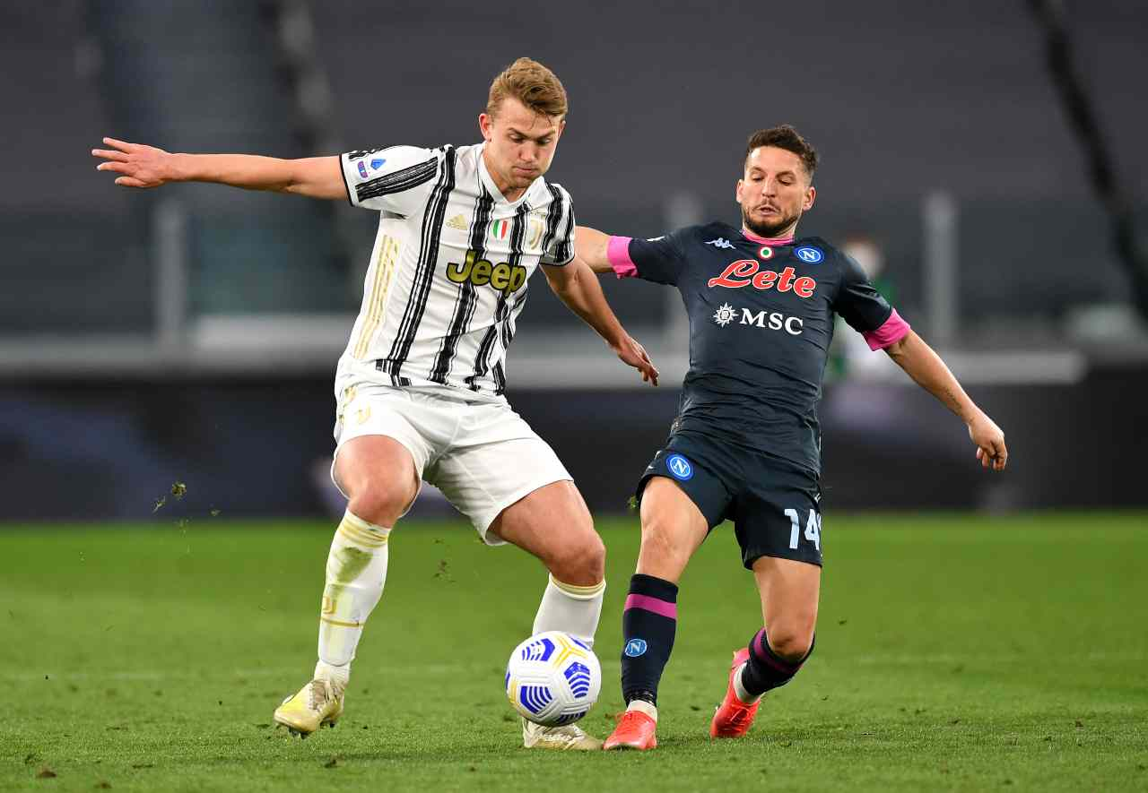 De Ligt calciomercato Juventus