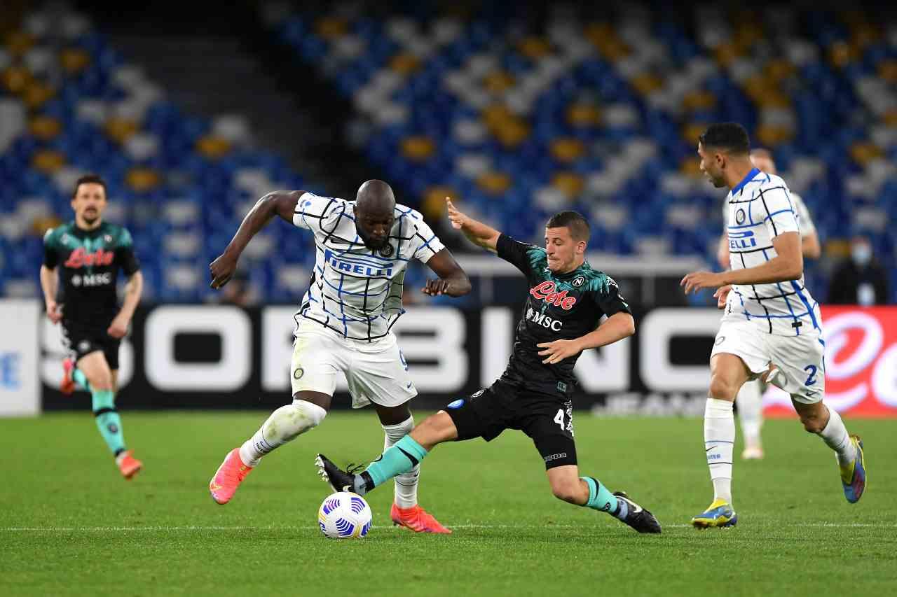 Napoli Inter demme