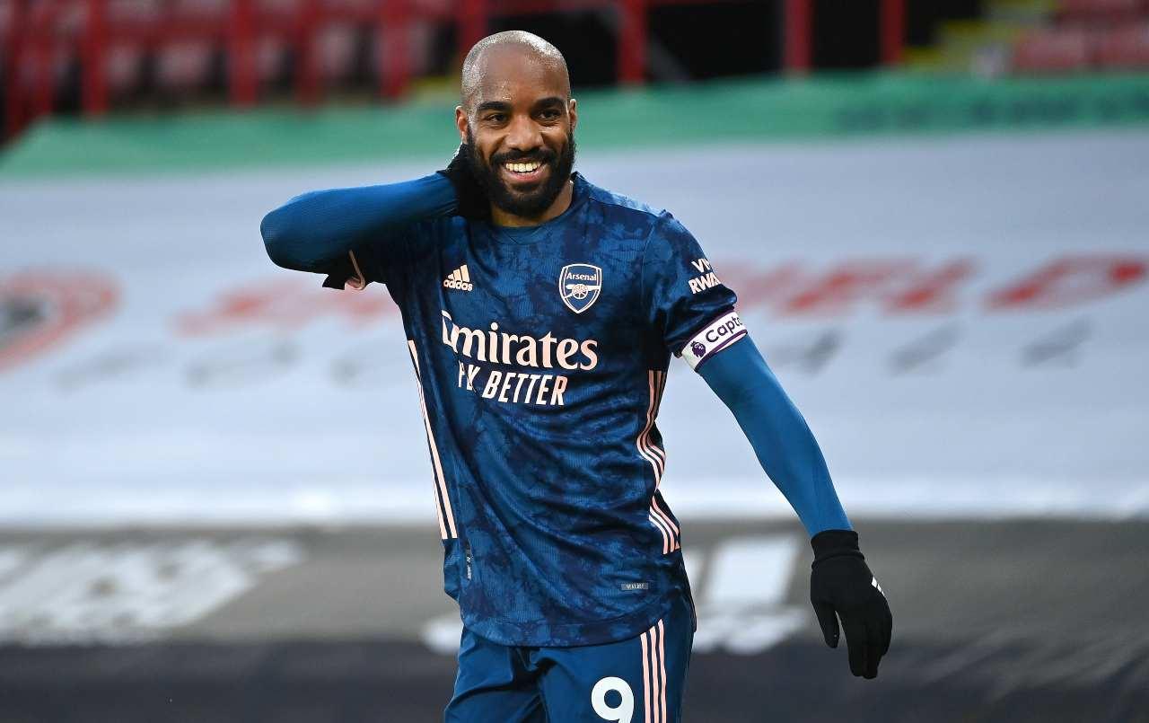 Lacazette addio Arsenal