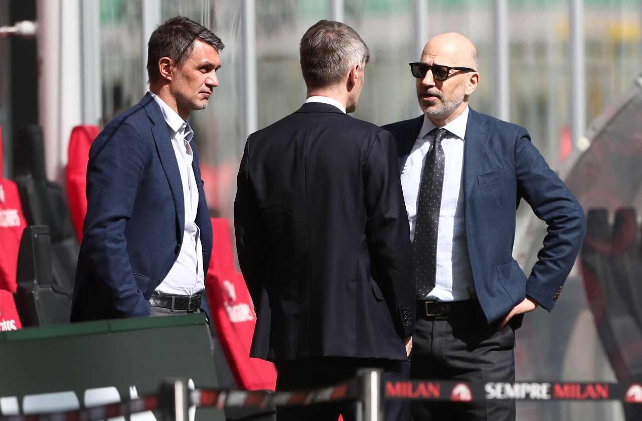 Maldini Milan Romagnoli