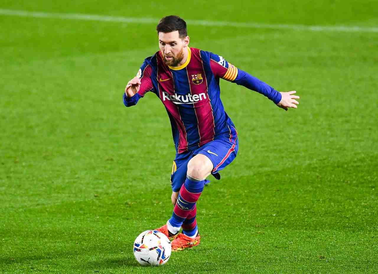 Messi Barcellona Lautaro
