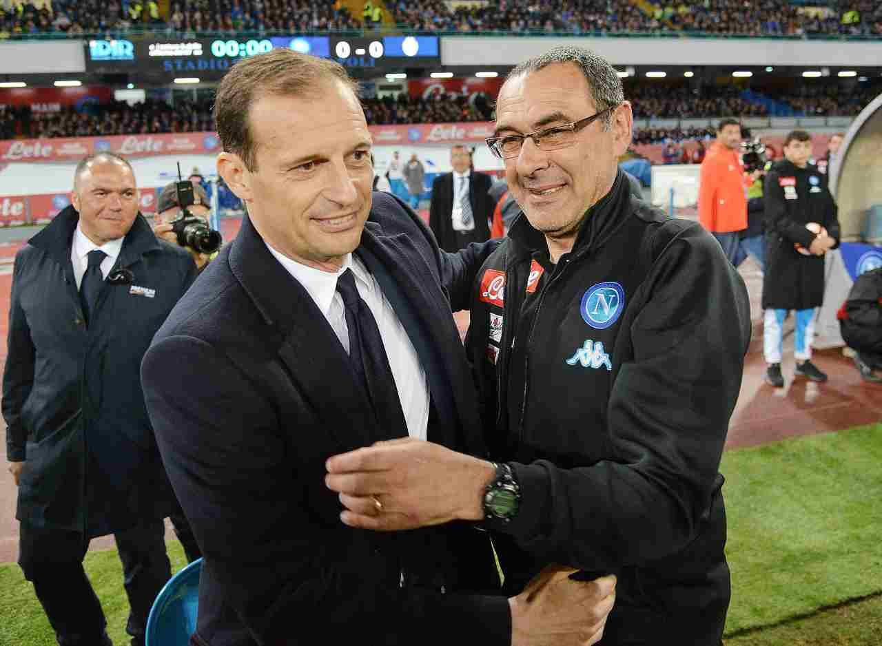 Allegri Sarri Juventus Real Madrid PSG Pochettino Tottenham
