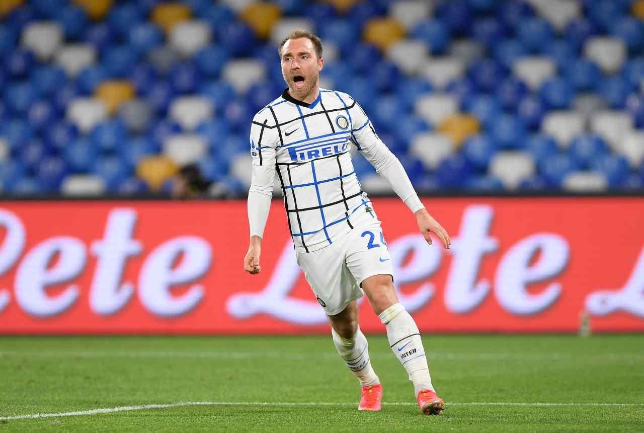 Calciomercato Inter, Eriksen