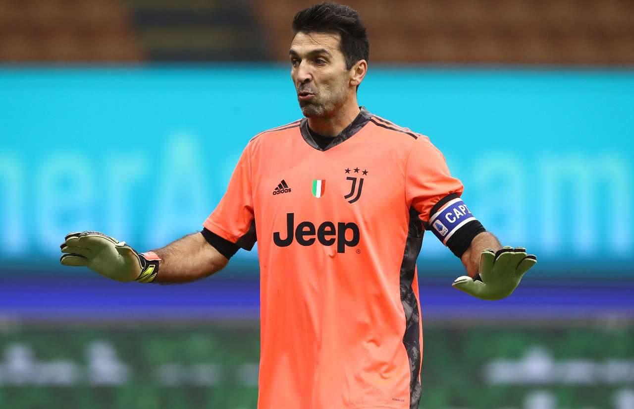 Calciomercato Juventus Buffon Roma Fiorentina