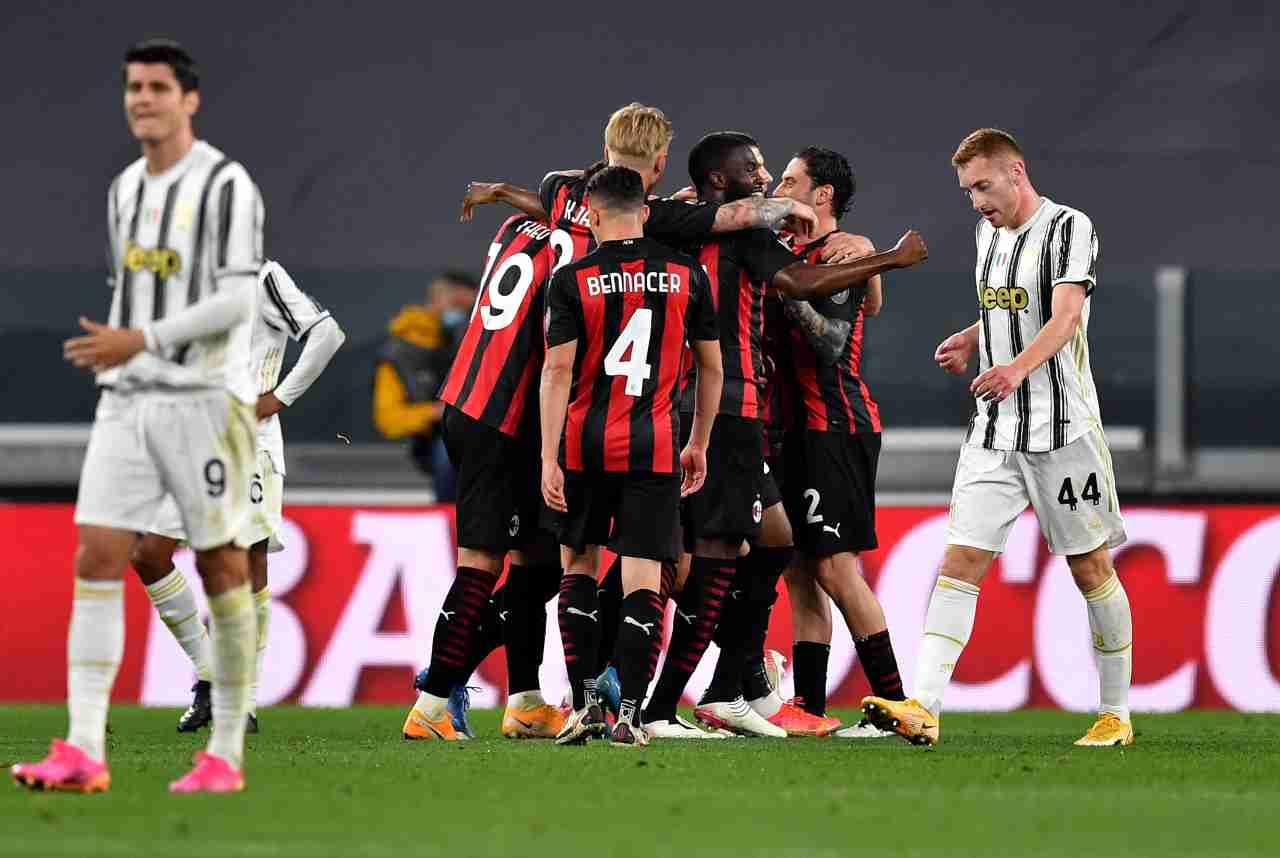 Juventus Milan Serie A Pioli Pirlo Brahim Diaz Rebic Tomori