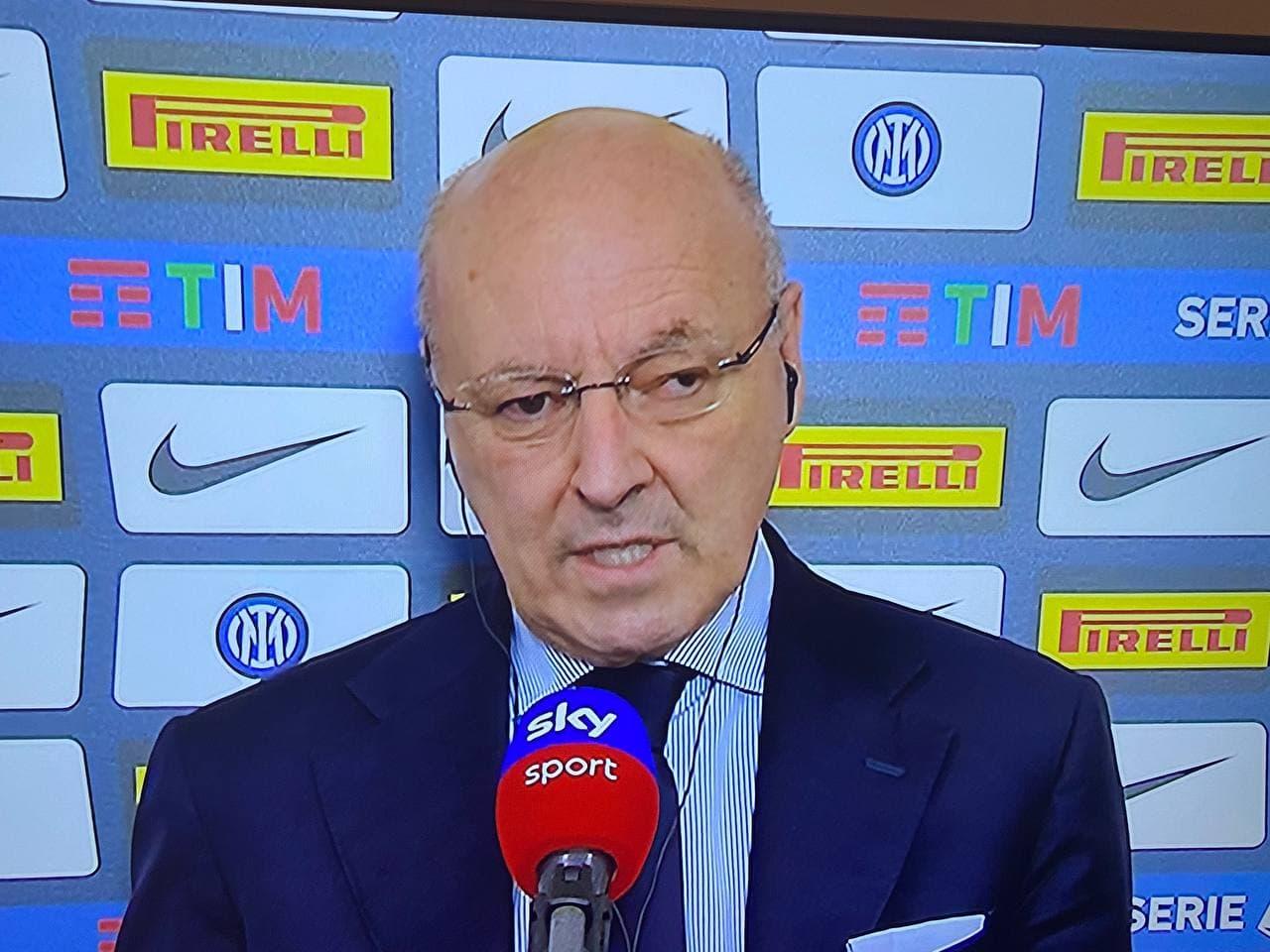 Inter Roma Marotta Conte Zhang Calciomercato