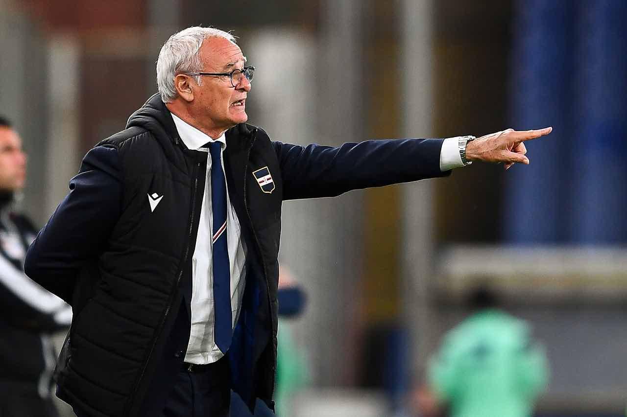 Ranieri Sampdoria Parma
