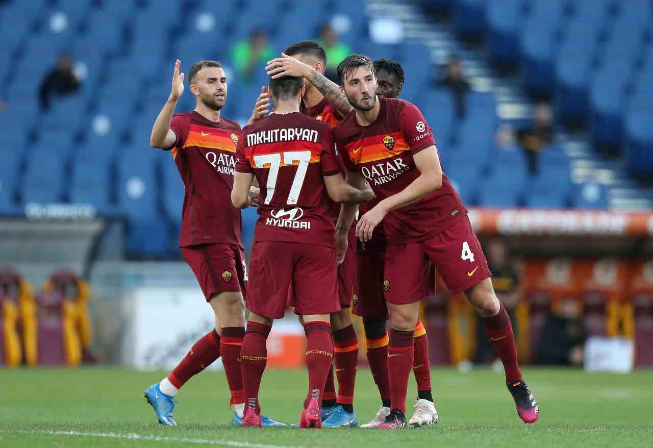 Roma Crotone 4-0