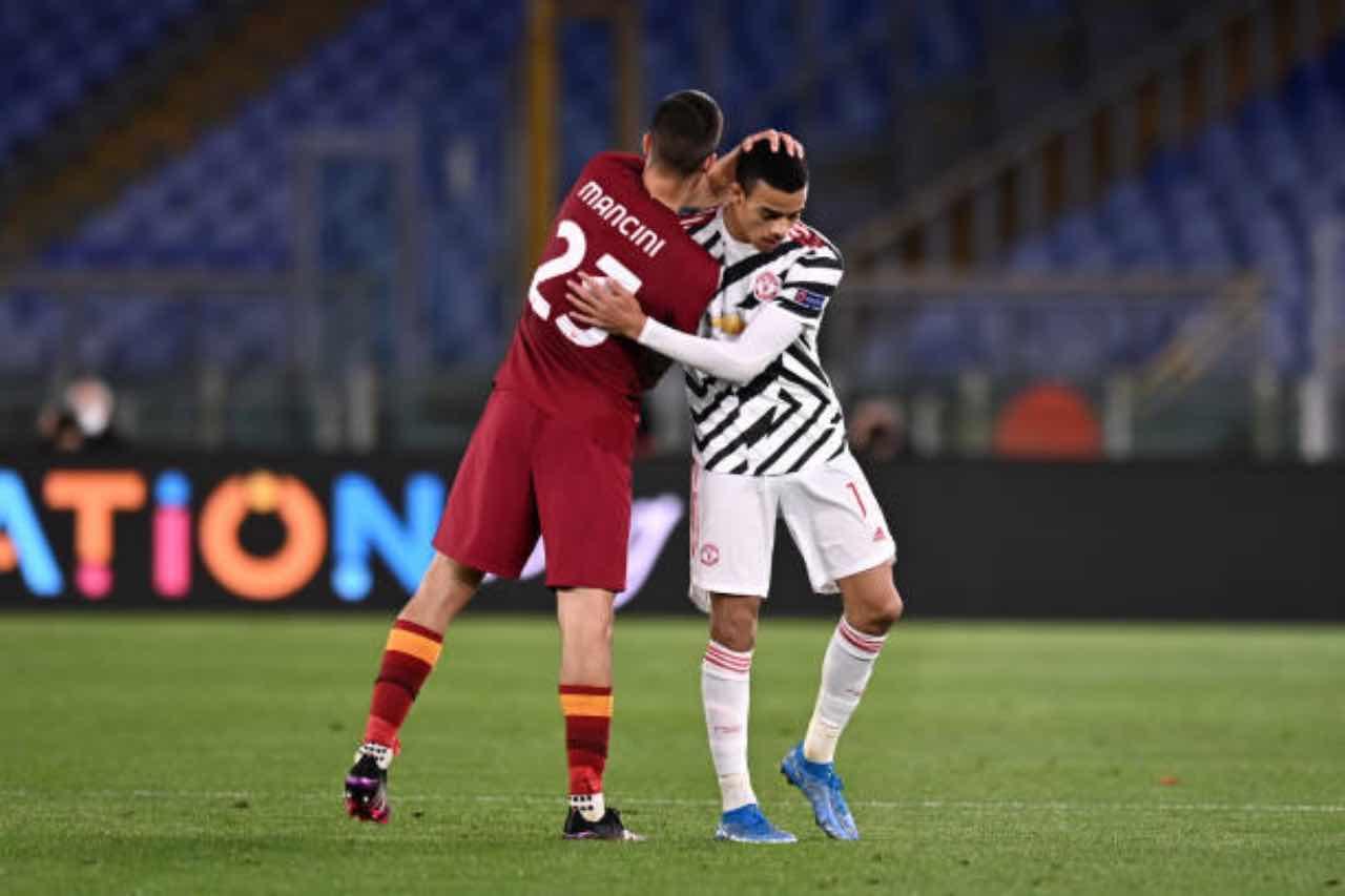Roma Manchester United Europa League