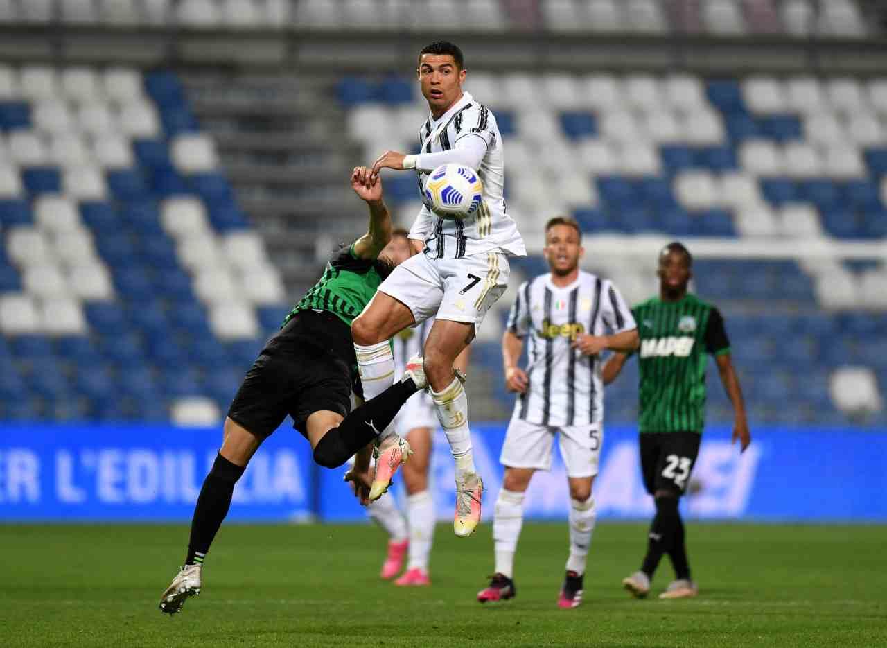Sassuolo Juventus Ronaldo Dybala