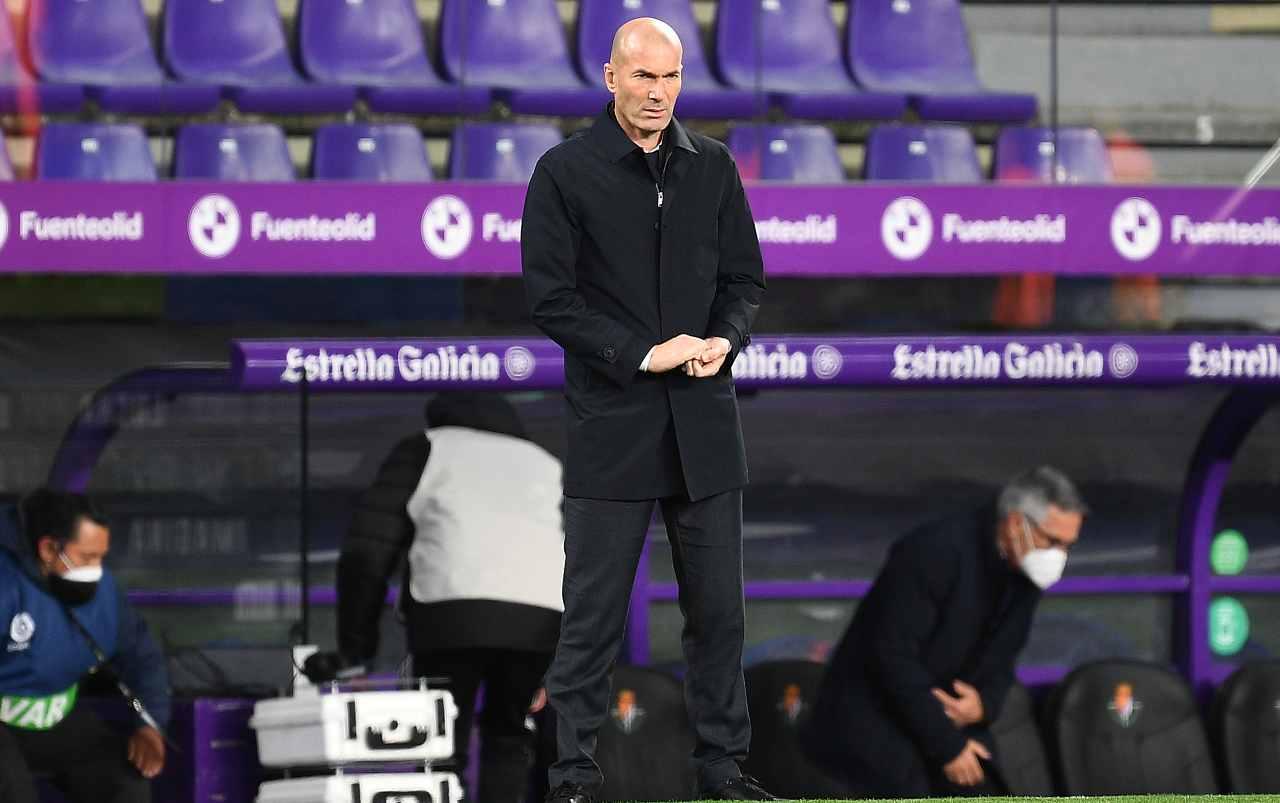 Juventus Zidane calciomercato