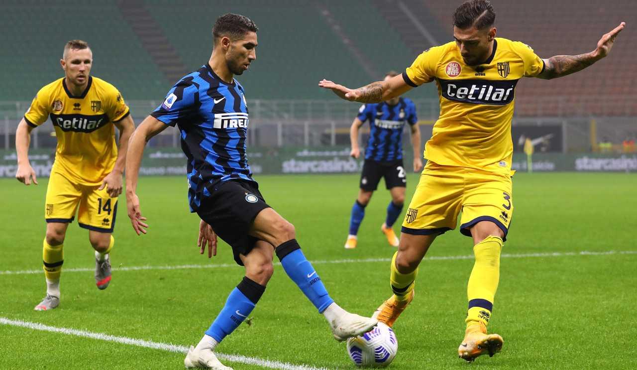 Calciomercato Inter Hakimi PSG