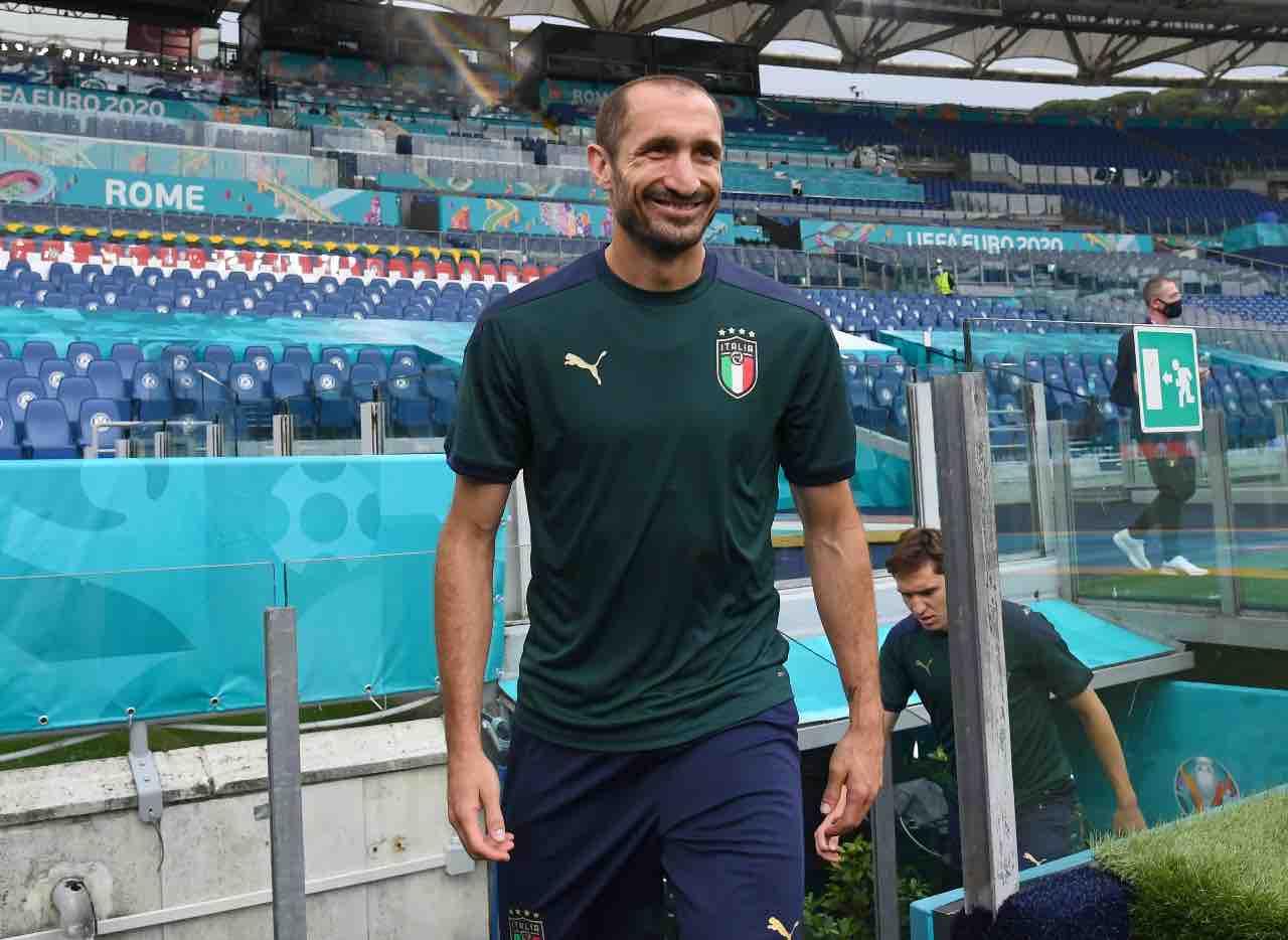 Italia Euro 2020 Chiellini