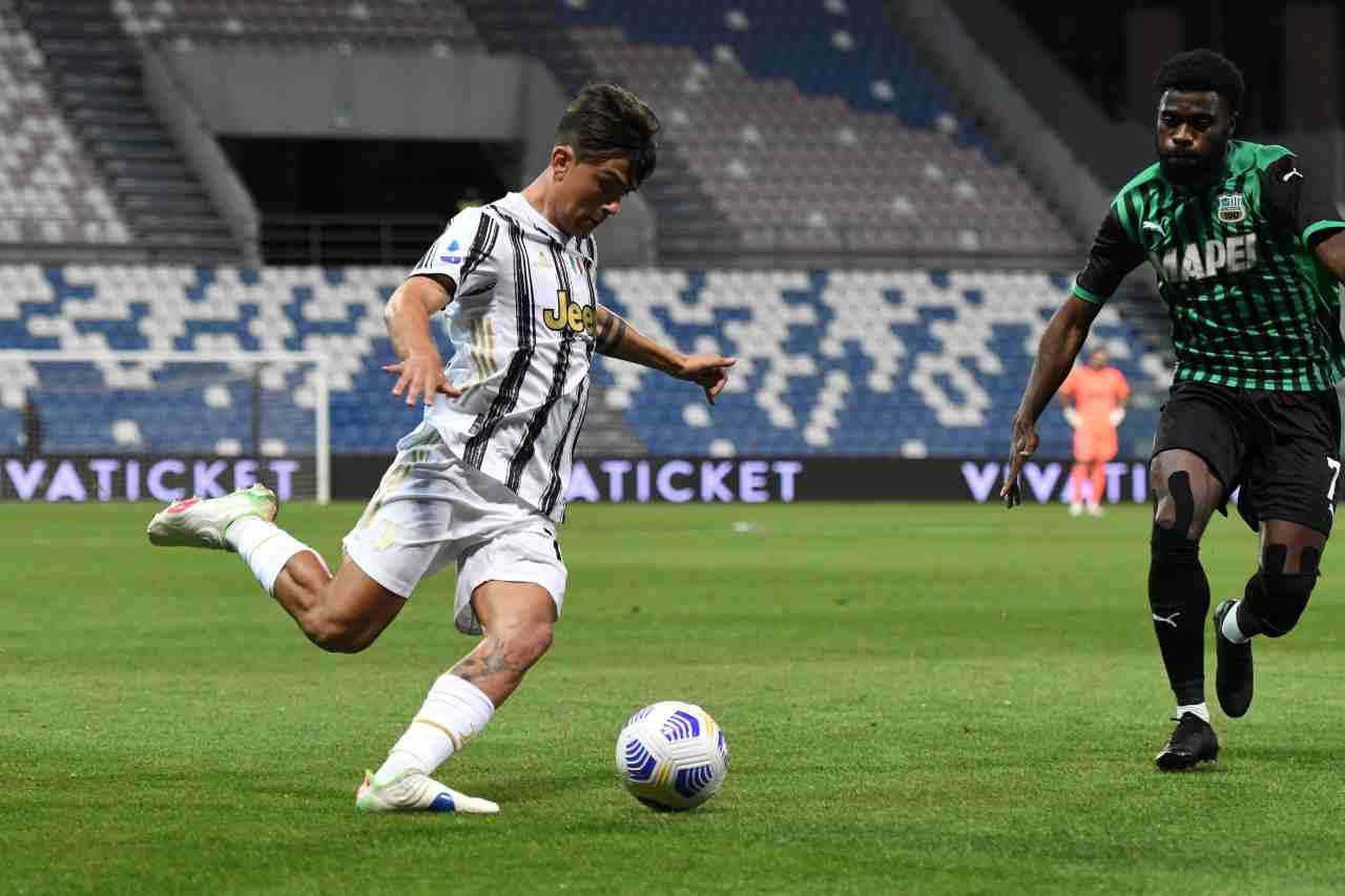 Juventus Dybala Paratici Tottenham Lucas Moura Aurier