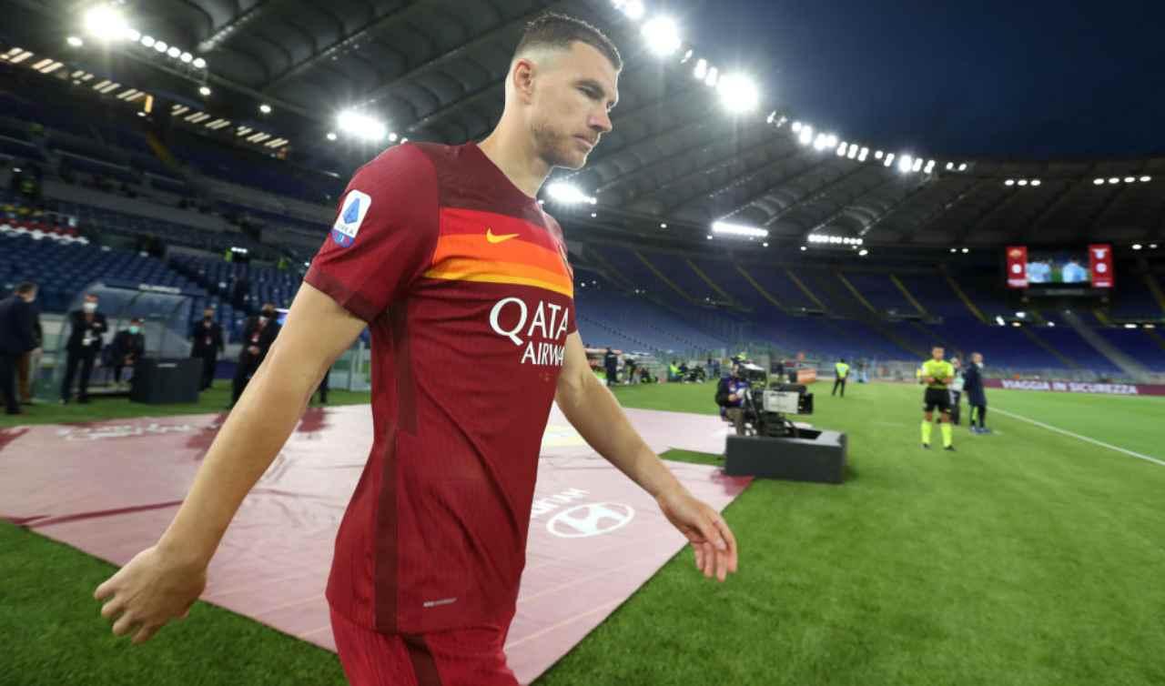 Dzeko Roma calciomercato