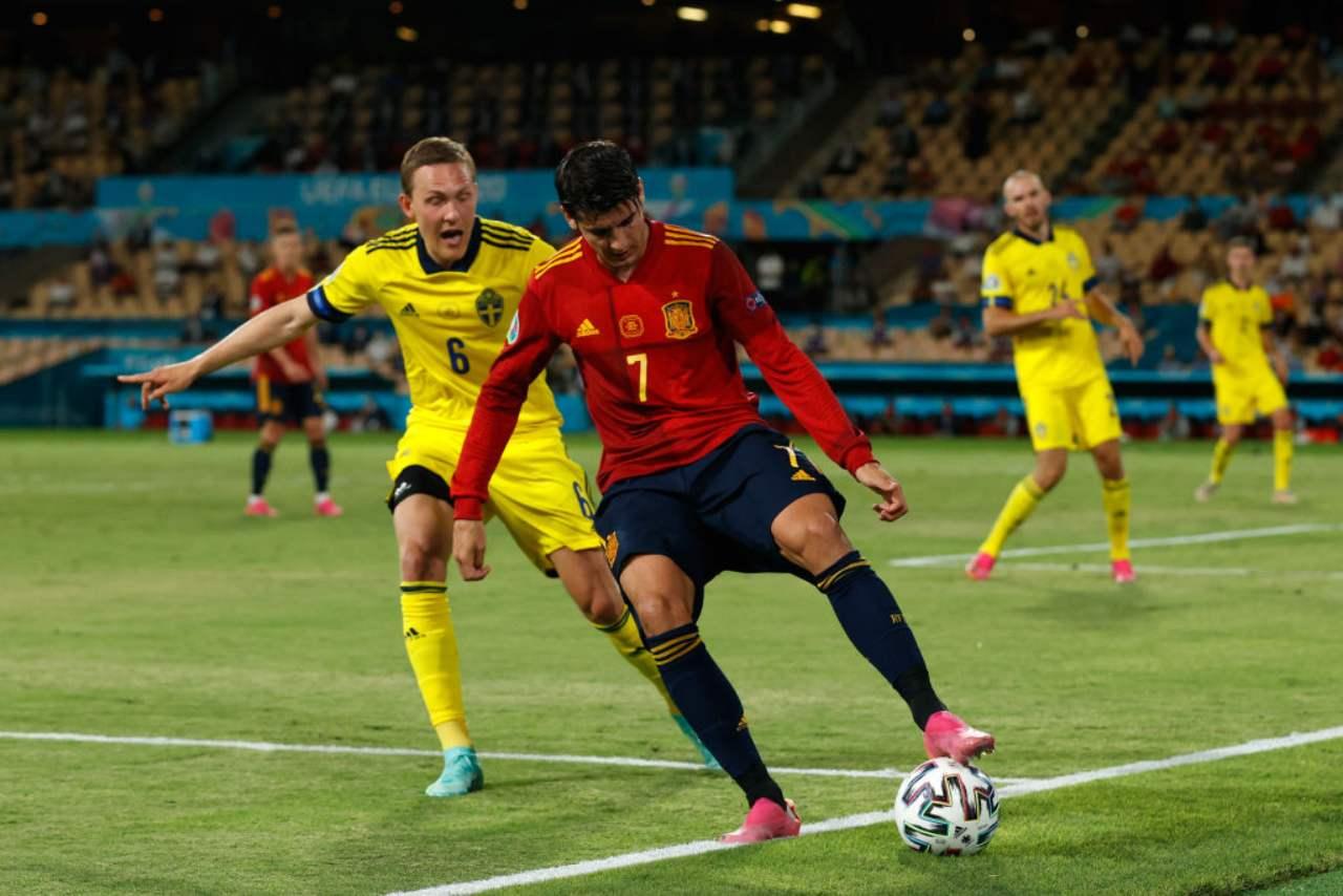 Spagna, delude Morata