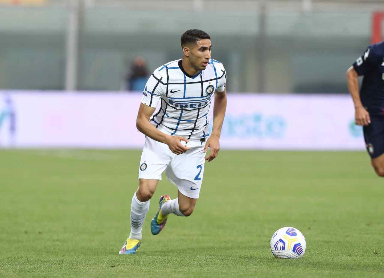 Calciomercato Inter, addio Hakimi | Accordo e addio in Premier