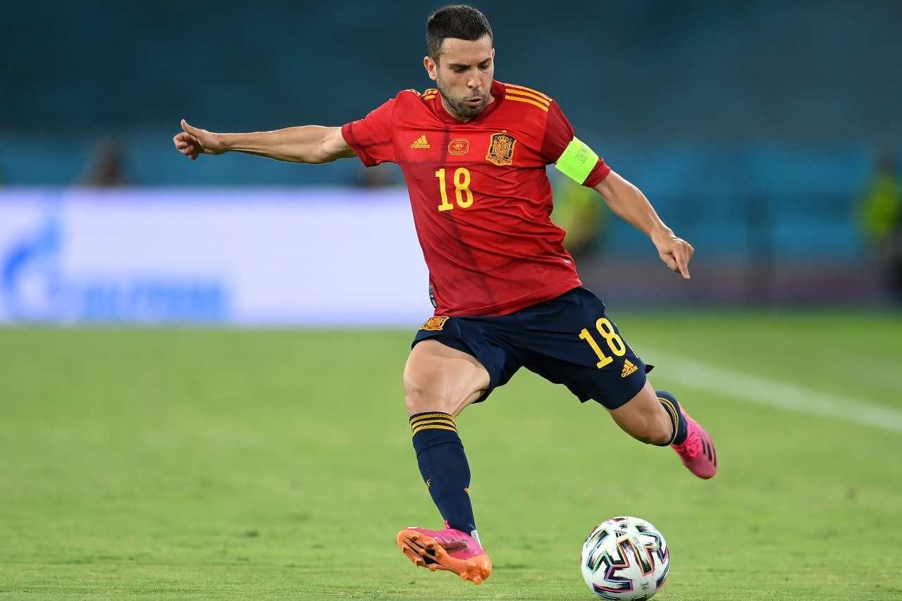 Jordi Alba calciomercato Inter