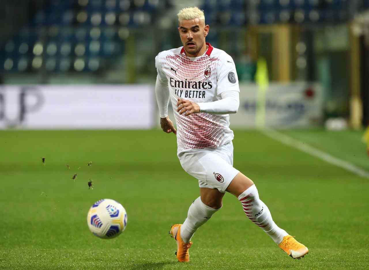 Calciomercato Milan, addio Theo Hernandez nello scambio   La risposta