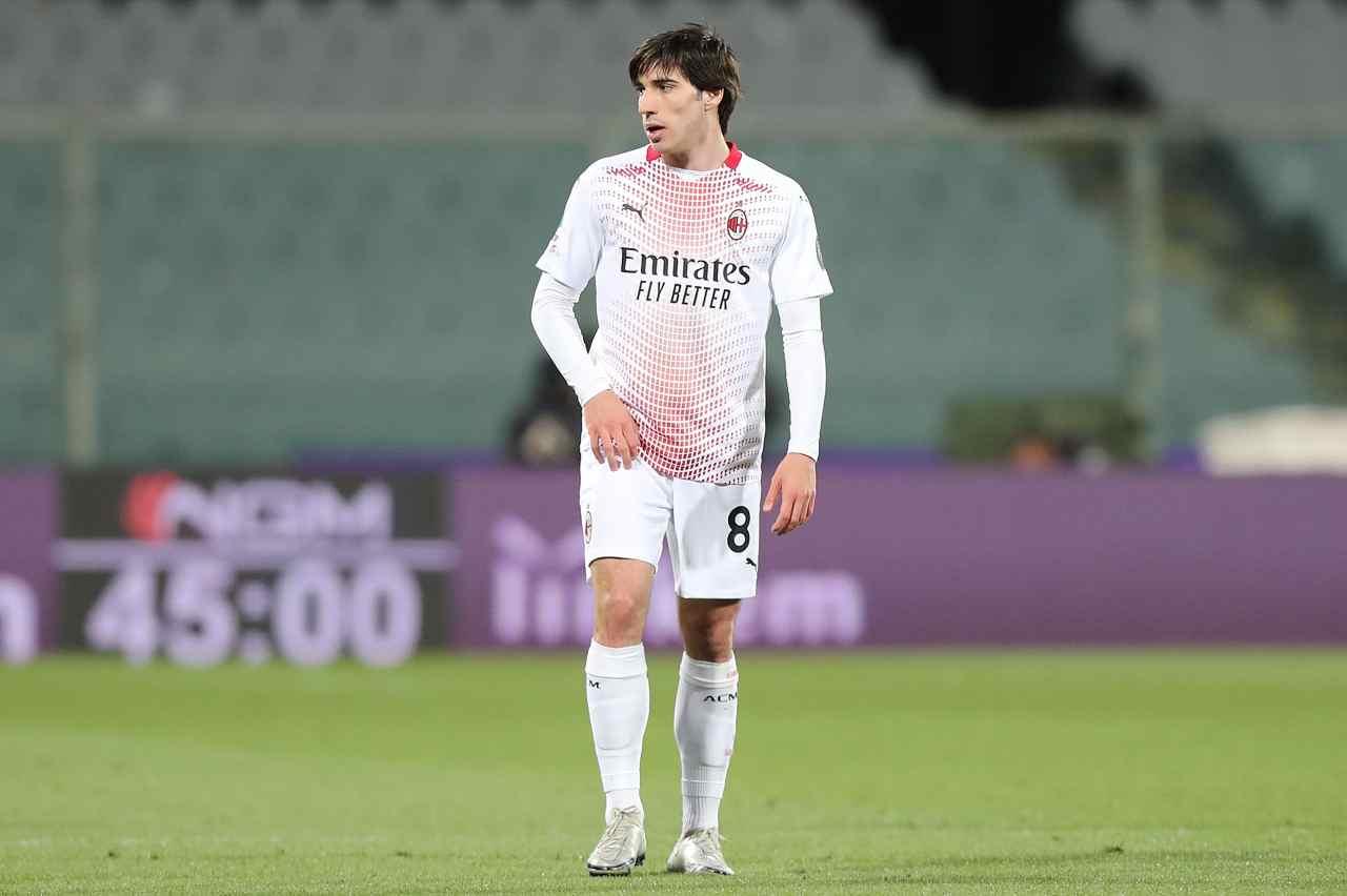 Calciomercato Milan, Maldini valuta lo scambio per Tonali