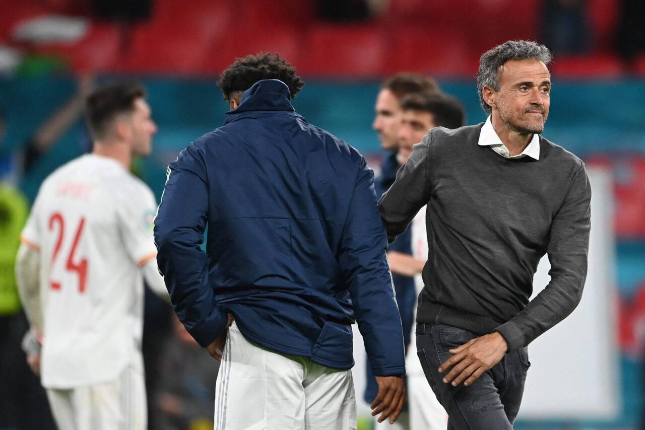 Italia Spagna, Luis Enrique tiferà azzurri   Il messaggio dopo la semifinale