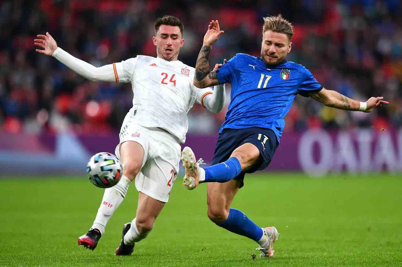 Italia Inghilterra Mancini Repice Immobile Rai Euro 2020