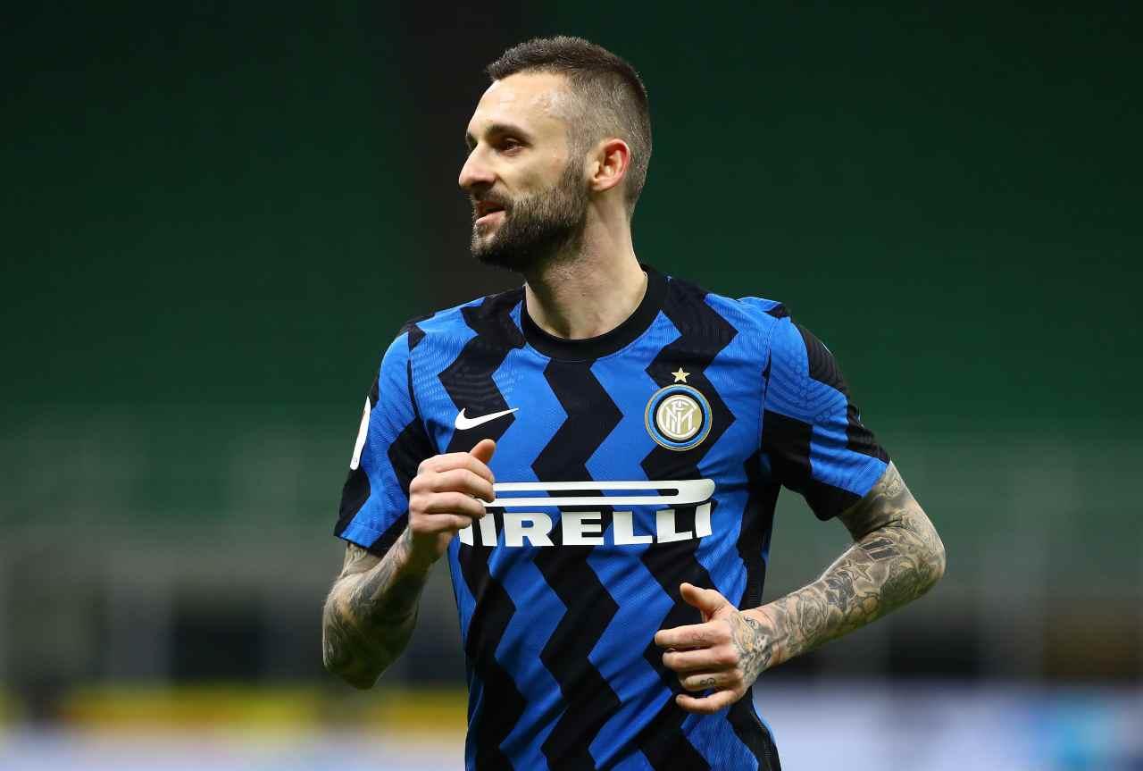 Inter Brozovic calciomercato Napoli