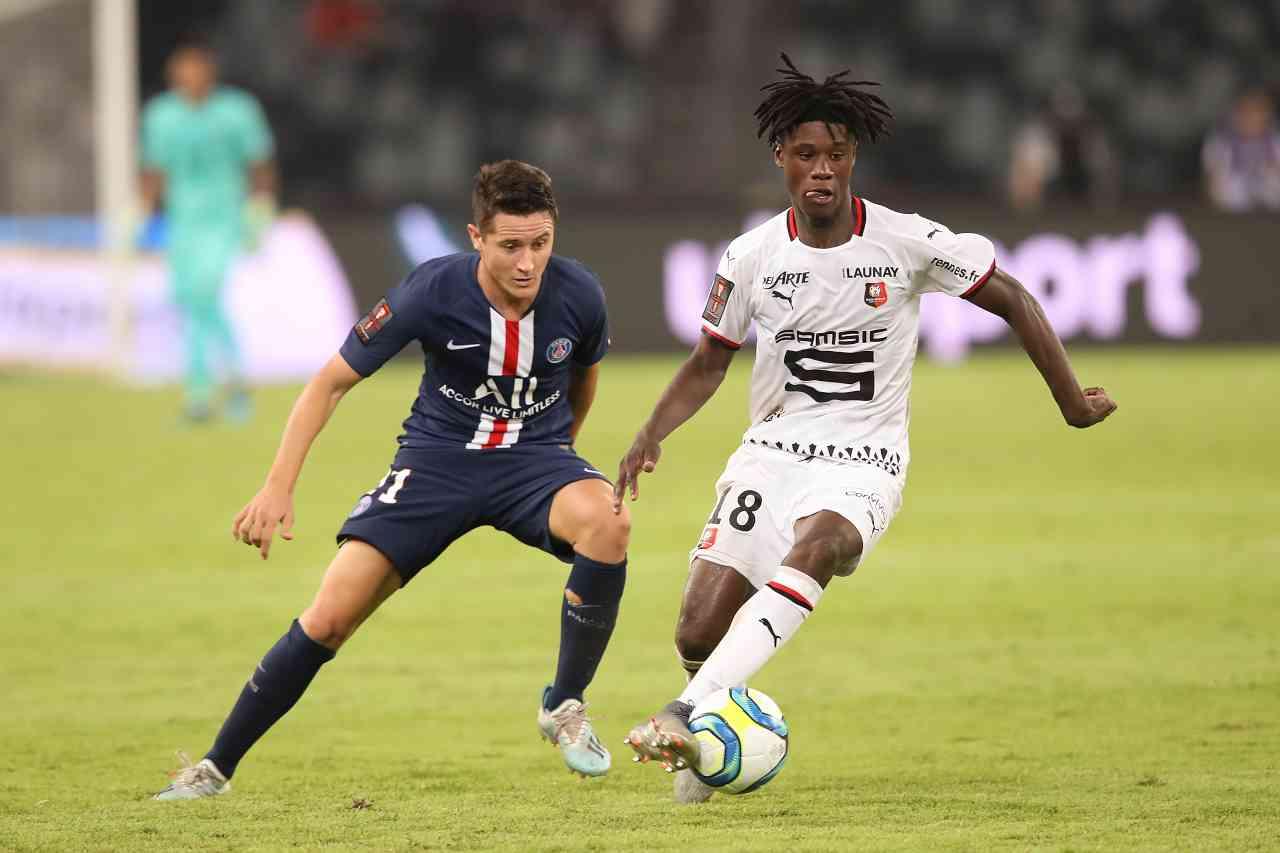 Juventus Camavinga PSG Rennes