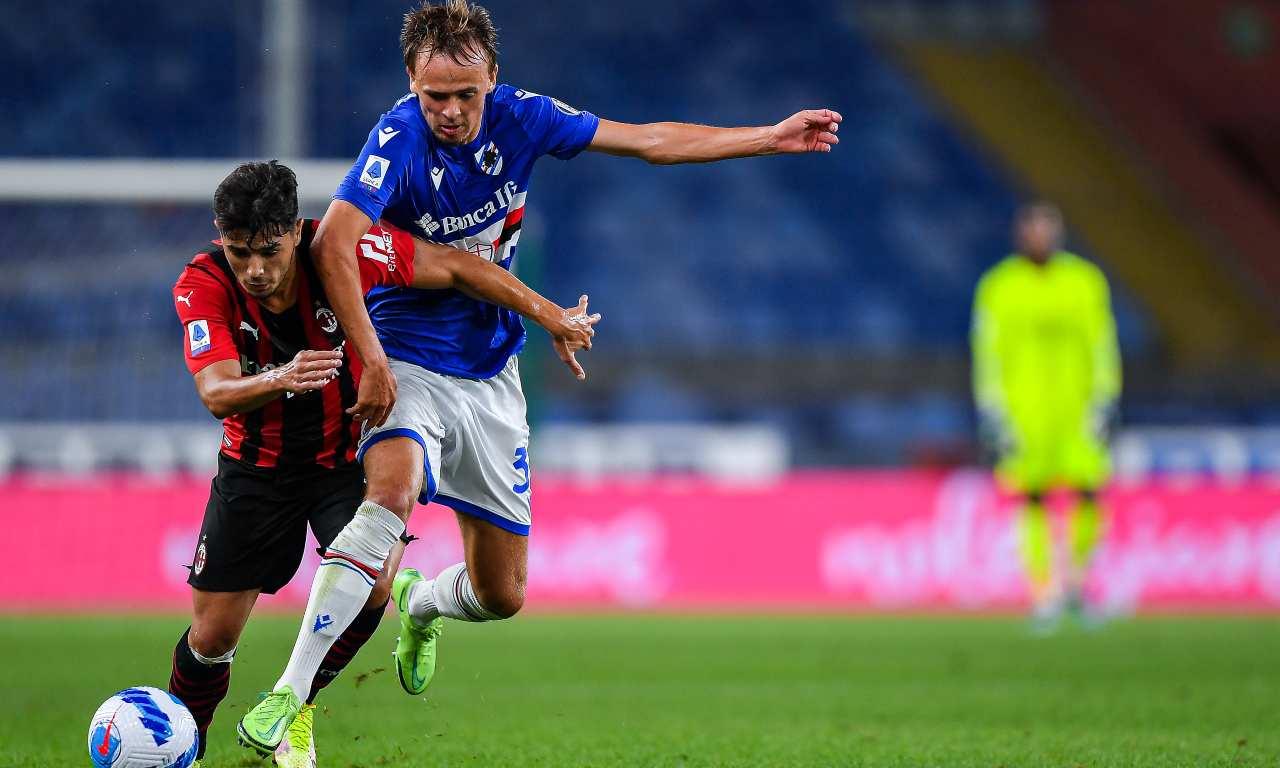 Sampdoria-Milan 0-1, Diaz decide la gara | Tabellino e classifica